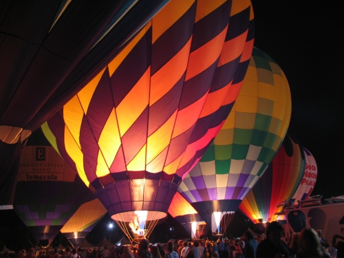 TEMECULA BALOON AND WINE FESTIVAL