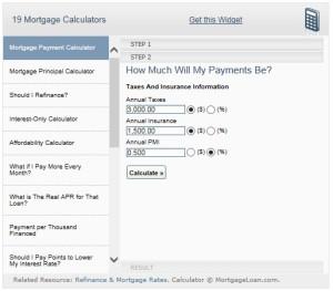 Mortgage calc 2pg